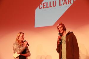 Johannes Kürschner im Gespräch mit Linn von cellu l'art